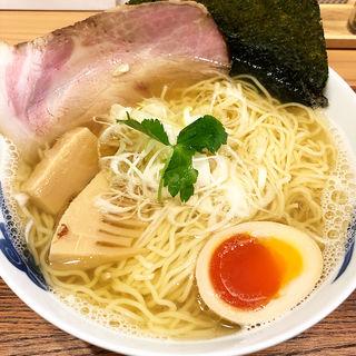 京都のもち豚 鰹ラーメン(麺屋猪一離れ)