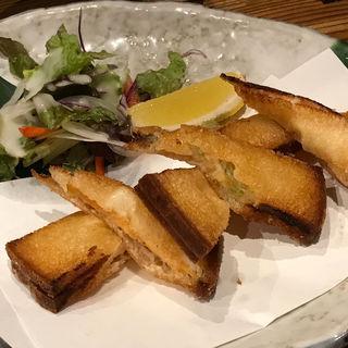 三色の海老パン(なかよし 千日前店 )