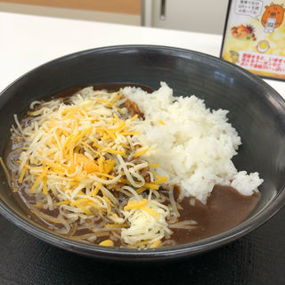 チーズ黒カレー(吉野家 第2阪和泉佐野店 )