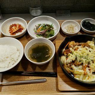 チーズダッカルビ定食(HANKKI)