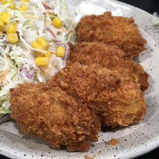 カキフライ定食(なか卯 築地橋店 )