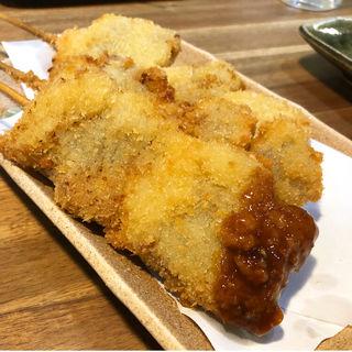 牛ロース串カツ(串しずか 御所南店)