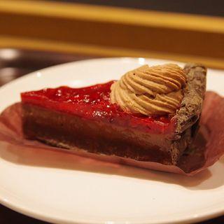 ラズベリーチョコレートパイ(スターバックスコーヒー ピオレ姫路1階店)