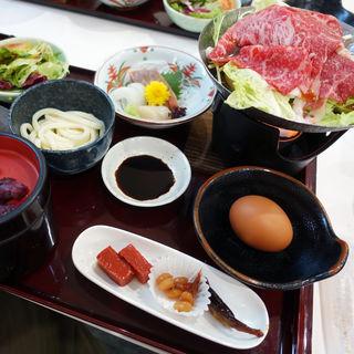 近江牛すき焼き御膳(近江牛レストラン GORYO (オウミギュウレストラン ゴリョウ))