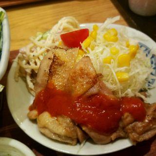 グリルチキンステーキ(うみの食堂)