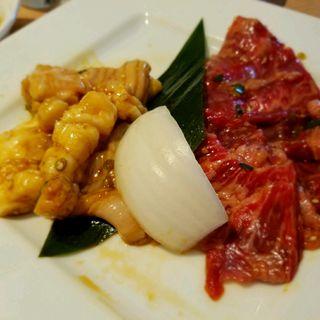 カルビ&ホルモンランチ(焼肉なべしま 土井店 )