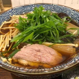 京鴨汁そば(麺屋猪一離れ)