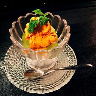 自家製ウニのアイスクリーム(ウニバー Kai 一章 (カイイッショウ))