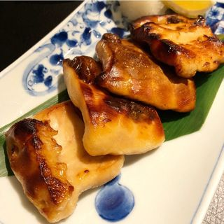 アブラツノザメの幽玄焼き(酒と魚とオトコマエ食堂次郎)