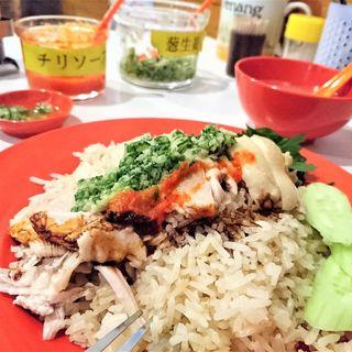 海南鶏飯(特上)(僕の鶏飯)