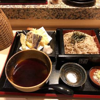 天セイロ(蕎麦鳥 別邸 ラフィラ店)