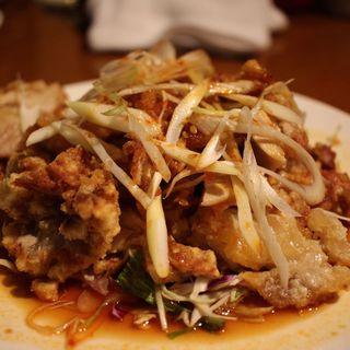 油淋鶏(135酒場 御徒町店 (イサゴサカバ))