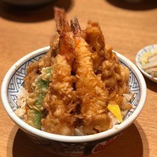 天丼(梅)舞茸(天丼 金子屋 赤坂店 )