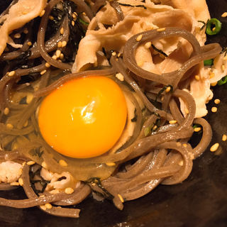 冷たい牛肉蕎麦(禅 (ゼン))