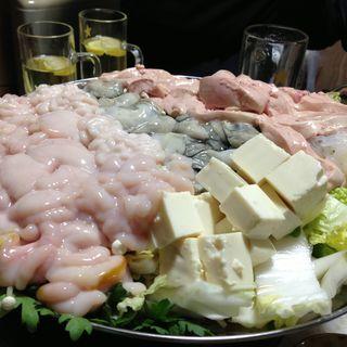 あん肝&牡蠣&白子鍋(豊田屋 )