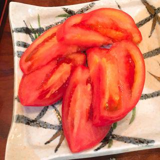 冷やしトマト(魚料理 星丸くん )