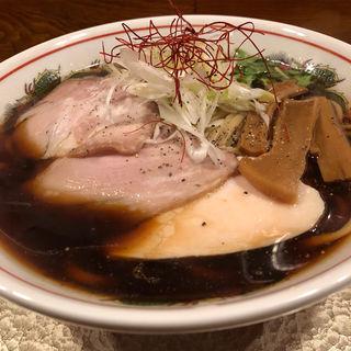 太麺200gの中華そば(がふうあん )