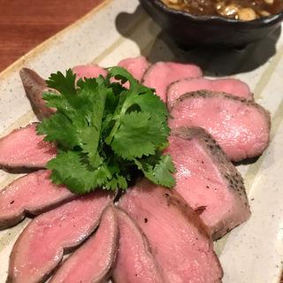 羊タン炙り 青花椒葱ソース(風乗りメリー)