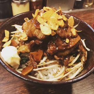 頂すたみなトンテキ丼(伝説のすた丼屋 お茶の水店 )