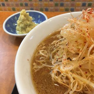 ピリ辛ネギらーめん(味噌)(麺や うから家から)