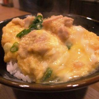そば&ミニ親子丼セット(昔ながらのうどん ふじ)