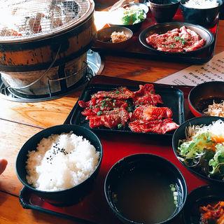 ハラミ定食(焼肉OGAWA 大森店 (ヤキニクオガワ))
