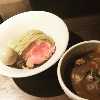半熟味玉豚骨魚介つけ麺(つけ麺一燈 (ツケメンイットウ))