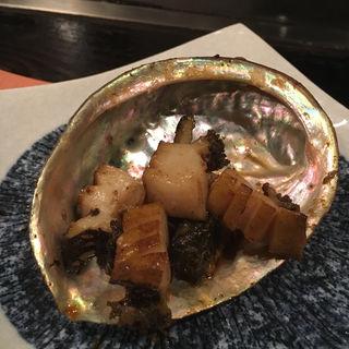 あわびの鉄板焼き(らぱん)