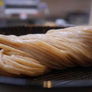 ざるうどん(石臼うどん専門店 麺達)