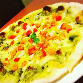 海老とジェノベーゼ(Pizza Bar Pecco (ペコ))