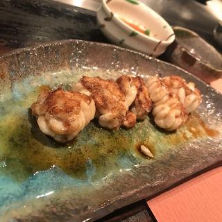 鱈の白子の鉄板焼き(らぱん (KOCHAN'S ステーキハウス らぱん))