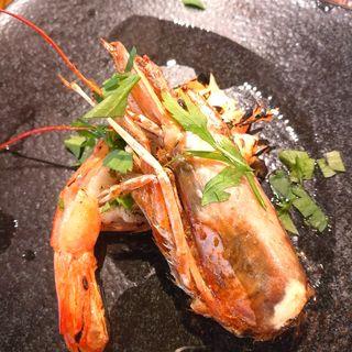 赤海老のグリル アンチョビバターソース(ワインビストロ Dai)