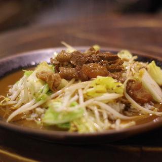 牛すじと白菜のカレー(インデアン (indean))