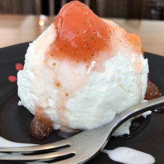 レアチーズケーキ(東向島珈琲店 pua mana (プーアマナ))