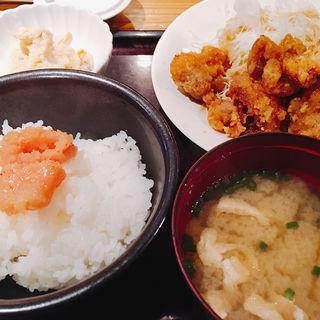 唐揚げ定食(やまや エキマルシェ大阪店 )