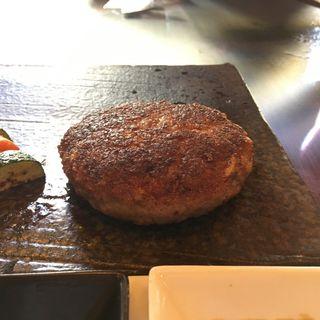 □■ 神戸・但馬ビーフのハンバーグランチ ■□(ビフテキのカワムラ 銀座店 )