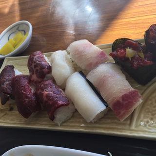 鯨の寿司(鯨食堂)