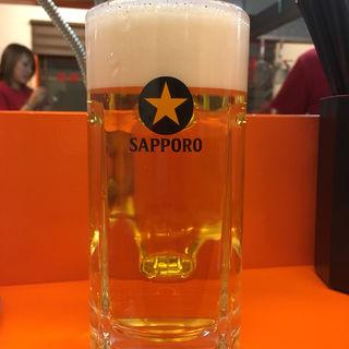 生ビール(博多ラーメン 二代目けんのすけ)
