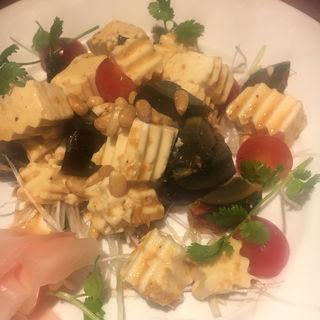 ピータンと豆腐の和え物(ふーみん )