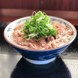牛すきかけ 肉増し(丸亀製麺 伊丹南町店 )