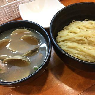 ホンビノス貝の塩つけ麺(ラーメン 哲史)
