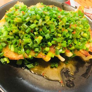 ネギ味噌焼餃子(青源)