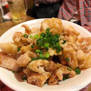 鶏皮ポン酢(串かつ でんがな 船橋店 )
