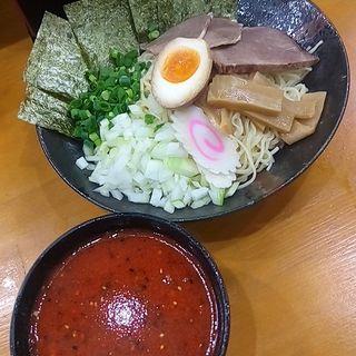 牛肉入りつけ麺(蘭州ラーメン池袋 火焔山)