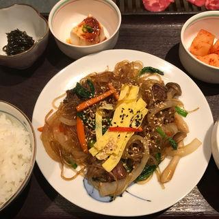 チャプチェ定食(大邱家 (タイキュウヤ))