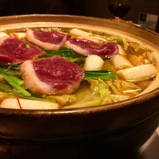 鴨亭鍋(ゆず胡椒香るつくね鍋)(鴨亭)