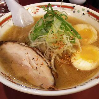 味噌卵ラーメン(狼スープ (オオカミスープ))