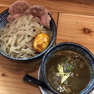 スパイスチキンカレーつけ麺(青二犀 (アオニサイ))