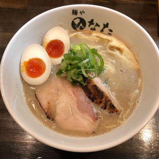 魚介鶏白湯らーめん(味玉付き)(麺屋 ひなた)