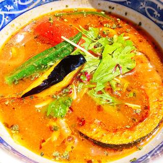 彩り野菜のスープカレー